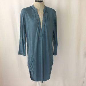 Free People Beach Blue Dress  Swim Cover Up XS 4